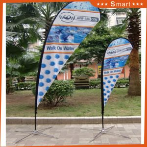 2017 New Wave Banner Printing Teardrop Flag with High Quality pictures & photos