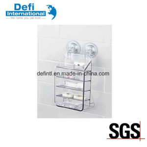 Multipurpose Bathroom Suction Cup Storage Rack pictures & photos
