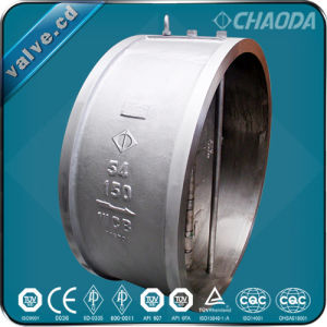 H76 Dual Plate Wafer Type Check Valve pictures & photos