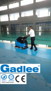 Multi Function Patent Eco Low Noise Walk-Behind Scrubber Dryer High Productivity pictures & photos