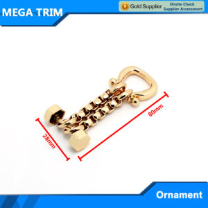 No. 20182 Fashion Light Gold Bag Chain Accessory pictures & photos