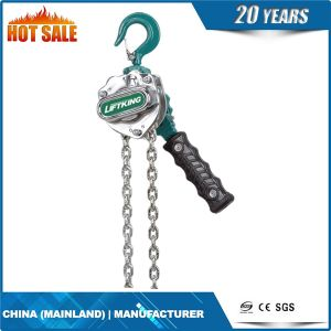 Liftking Brand Best Selling Vital Type Lever Pulley Chain Hoist (HSH-V) pictures & photos