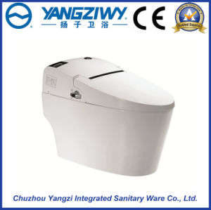 Automatic Bathroom Smart Ceramic Intelligent One Piece Toilet Bowl pictures & photos