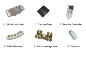 High Quality PU Leather Massage Table pictures & photos