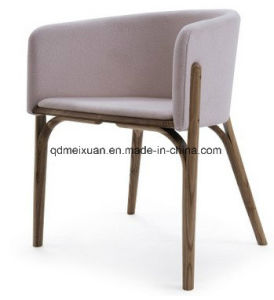 Real Wood The Nordic Cloth Art Cafe Restaurant Hotel Chair Sitting Room Chairs (M-X3833) pictures & photos