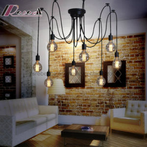 Modern Bulb Spider Shape Chandelier Pendant Lamp for Dining Room pictures & photos