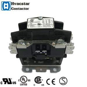 UL Two Pole Contactor 1 Pole Compressor Contactor pictures & photos