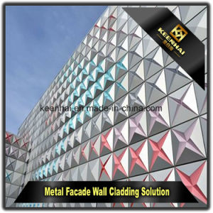 Exterior Perforated Decorative Aluminum Wall Cladding Panel pictures & photos