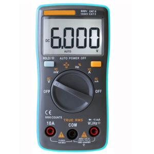 10A Man Range AC DC Portable Voltmeter Ammeter Digital Meter pictures & photos