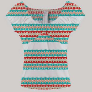 Wax Ankara Clothing Latest Tops Designs Girls African Printing Clothes pictures & photos