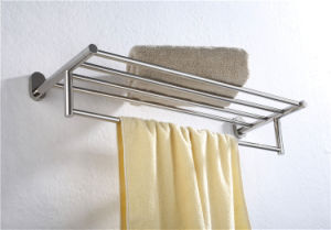 Wall-Mount Bathroom Accessories Stainless Steel Towel Rack (1212) pictures & photos