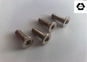 DIN7991 Stainless Steel Hex Socket Countersunk Screws pictures & photos