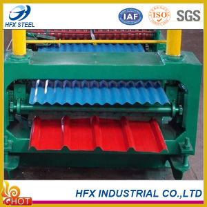 Color Coated Corrugated Steel Sheet for Building pictures & photos