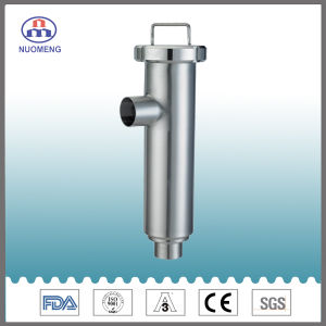 Sanitary Stainless Steel Welded Angle Type Strainer (IDF-No. NM100104) pictures & photos