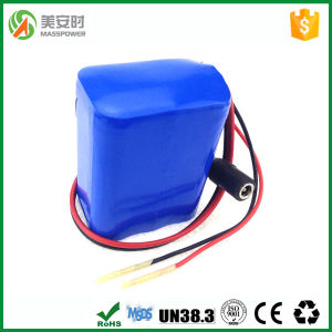 Small Size Lithium Battery Pack with High Capacity 7.4V pictures & photos