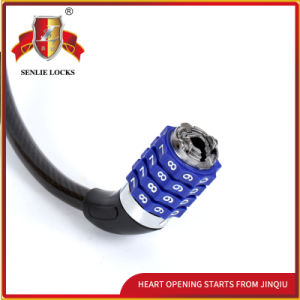 Jq8305 Black Color Durable Bicycle Lock Motorcycle Password Lock pictures & photos
