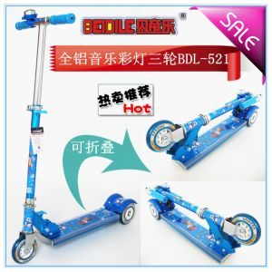 Skate Scooter for Kids/ Children Gift with Flashing Wheel