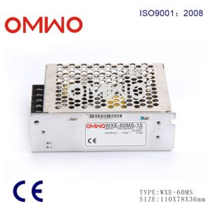 Wxe-60ms-12 Mini Size 60W DC 12V 5A Switching Power Supply for LED Strip Light, Input 110/220V AC pictures & photos
