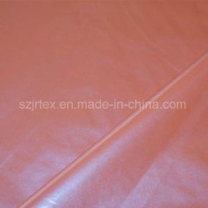 Waterproof Polyester Pongee Chemical Fabric with Pearly Coating pictures & photos