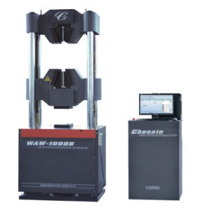 Computerized Electro-Hydraulic Servo Universal Testing Machine (WAW-100B) pictures & photos