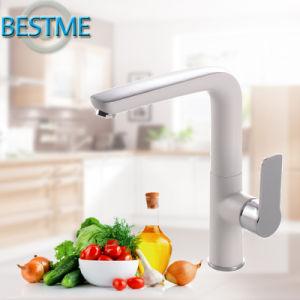 Modern Design White Color Kitchen Faucet pictures & photos