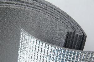 Flame Retardant Foam with Aluminum Foil /Insulation XPE Foam for Building pictures & photos