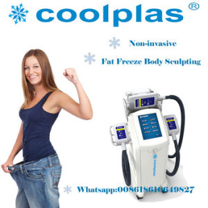 Europe Popular 2 Handpieces Cryomed Cryolipolysis RF Slimming Coolsculpting Fat Freezing Cellulite Removal Machine pictures & photos