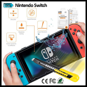 Ultrathin Glass Film Screen Protector for Nintendo Switch Console Game Accessories