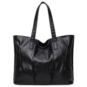 Women Handbags Simple Faux Leather Shoulder Vintage Bag