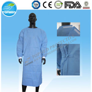 Hospital Medical Use SMS Surgical Gown pictures & photos