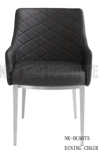 New Fashion Simple Design Brushed Stainless Steel Dining Chair (NK-DCA074) pictures & photos