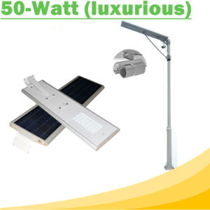 50W All in One Solar Street Light IP65 with Motion Sensor pictures & photos