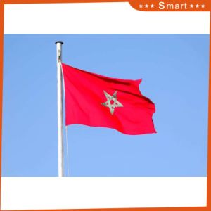 Custom Waterproof and Sunproof National Flag Morocco National Flag pictures & photos