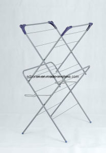 Painting Simple Extended Extendable Airer Clothes Horse Clothes Rack pictures & photos