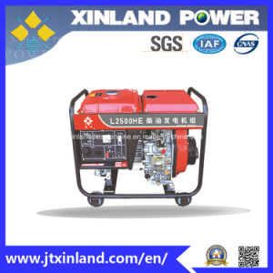 Self-Excited Diesel Generator L2500h/E 60Hz with ISO 14001 pictures & photos