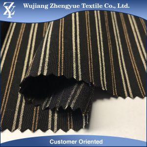 Warp Stretch Stripe Yarn Dyed Nylon Spandex Garment Fabric pictures & photos