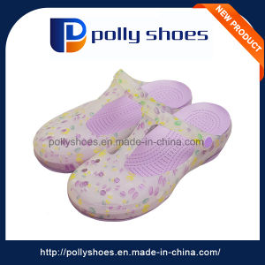 Water Transfer Footwear Wholesale Lady Sandal pictures & photos