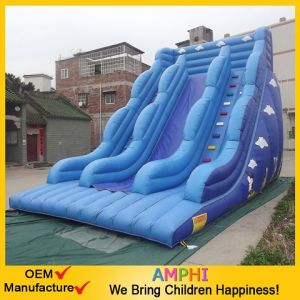 Jungle Inflatable Combo with Slide and Catsle
