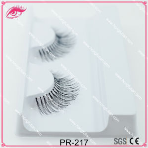 Handmade False Lash Human Hair Eyelash pictures & photos