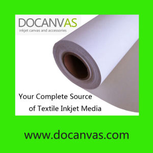 Polyester and Cotton Blended Eco Solvent Inkjet Printing Canvas 420GSM pictures & photos