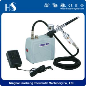 HS08AC-SKF 2016 Very Popular Product Airbrush Compressor Kit for Nail Art and Tattoo pictures & photos