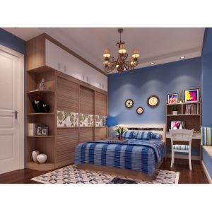High Quality Custom-Made Melamine Sliding Wardrobe for Living Room pictures & photos