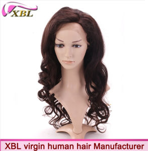 Xbl Fashion Wholesale Virgin Human Hair Wig pictures & photos