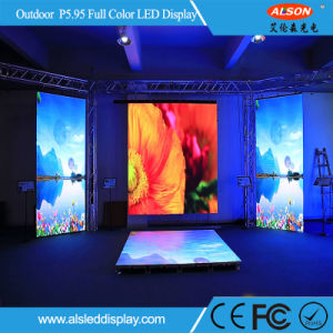 Outdoor P5.95 Stage Full Color Rental LED Display Screen for Events Video pictures & photos