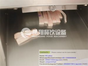 FC-300 Poultry Cutter Chicken Cube Cutting Machine Meat Cube Cutter pictures & photos