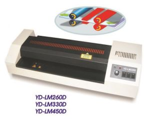 Double-Heat Metal Pouch Laminator Yd/Lm260d pictures & photos