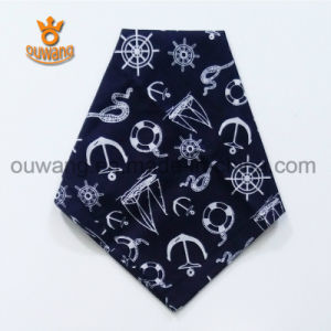 Wholesale Printed High Quality Paisley Square Cotton Bandana pictures & photos