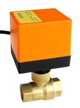2 Way Motorized Brass Ball Check Valve (HTW-EG) Series pictures & photos