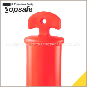 115cm T-Top Bollard with 6kg, 8kg Rubber or PVC Base pictures & photos