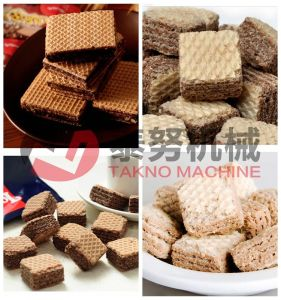 Chocolate Coated Wafer Making Process Machinery pictures & photos